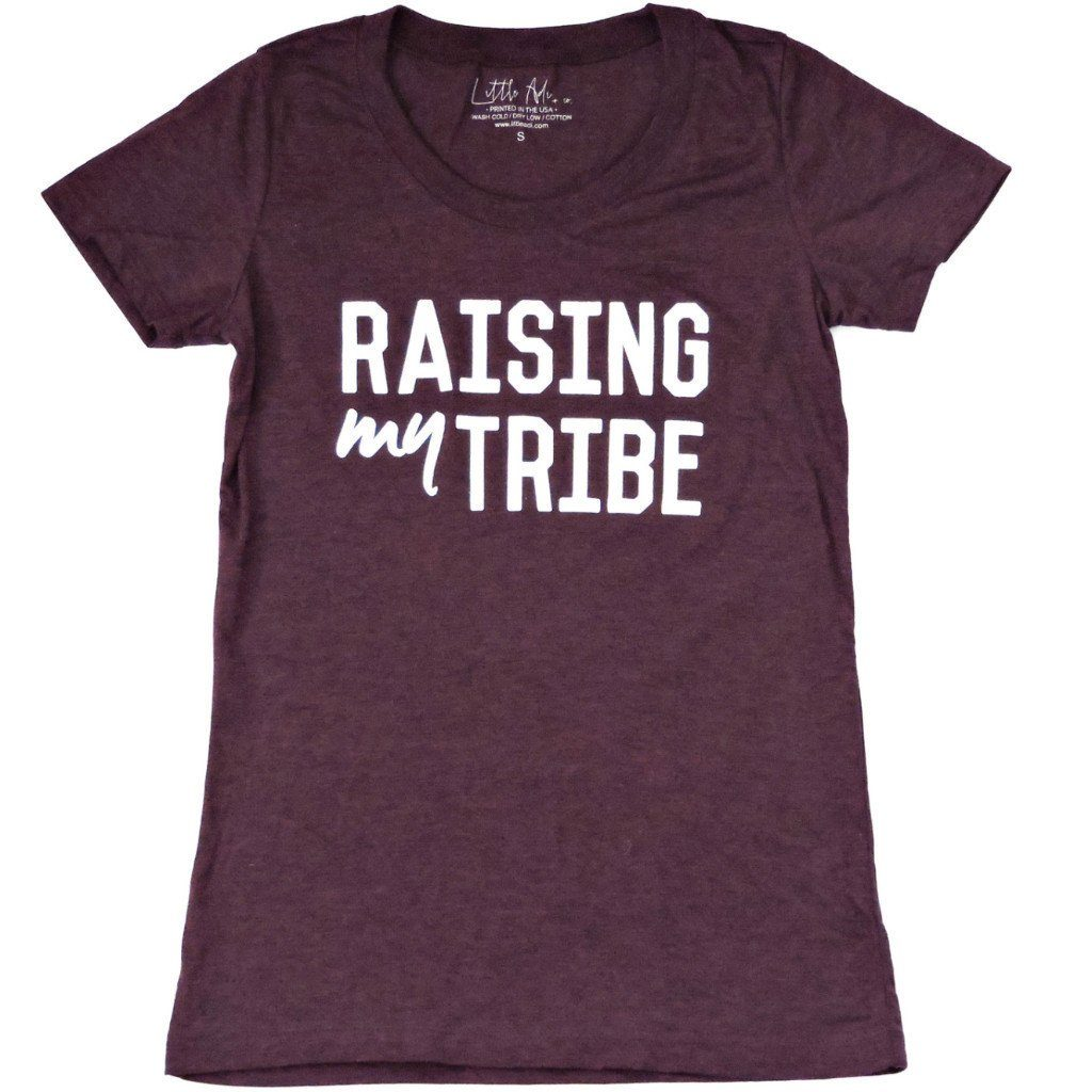 "Adult ""Tribe"" Heather Tee"