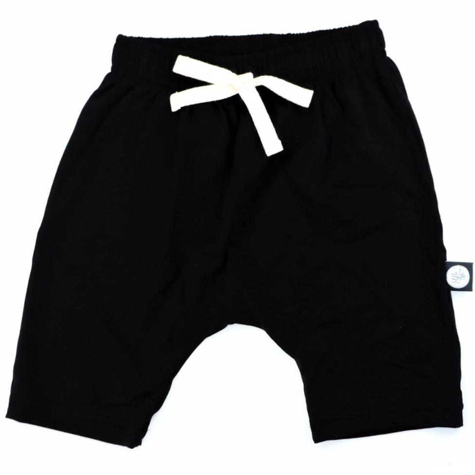 Black Bamboo Harem Short - Little Adi + Co.