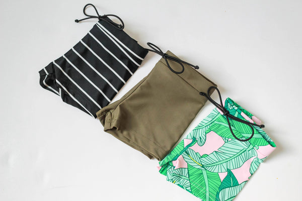 SWIM Trunks | coastal palm - Little Adi + Co.