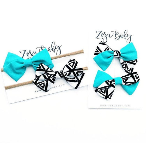 Zozu Baby x Little Adi Co. Hair Bows