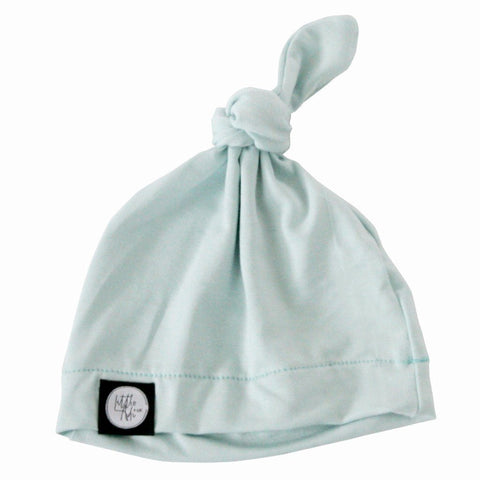Infant Knot Beanie - Mint - Little Adi + Co.