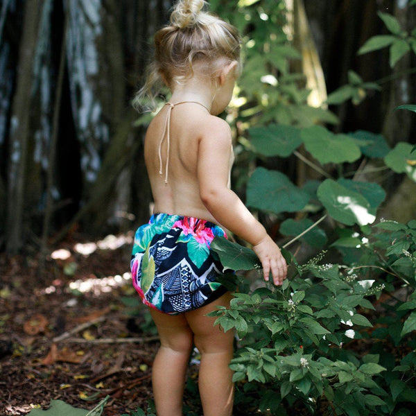 SWIM Bummies™ - Aloha print (only M & L left!) - Little Adi + Co.