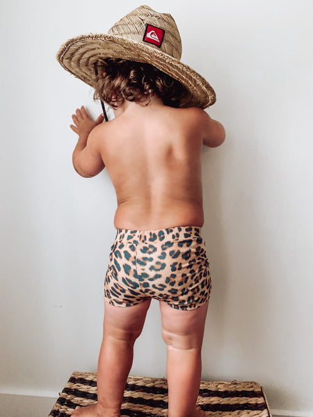 SWIM Trunks - Leopard