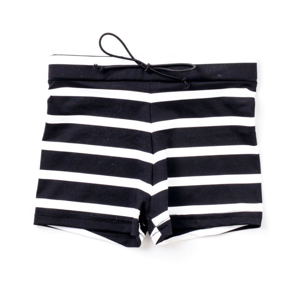 SWIM Trunks - black stripe