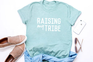 "Unisex ""Tribe"" Dusty Blue Tee"