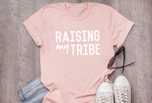 "Unisex ""Tribe"" Heather Peach Tee"