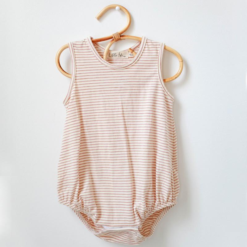 Bubble Onesie | retro stripe - Little Adi + Co.