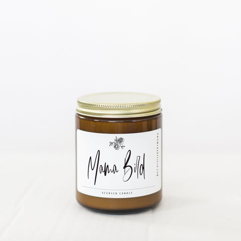 Promenade Field - Mama Bird Soy Candle - 8 oz - Little Adi + Co.