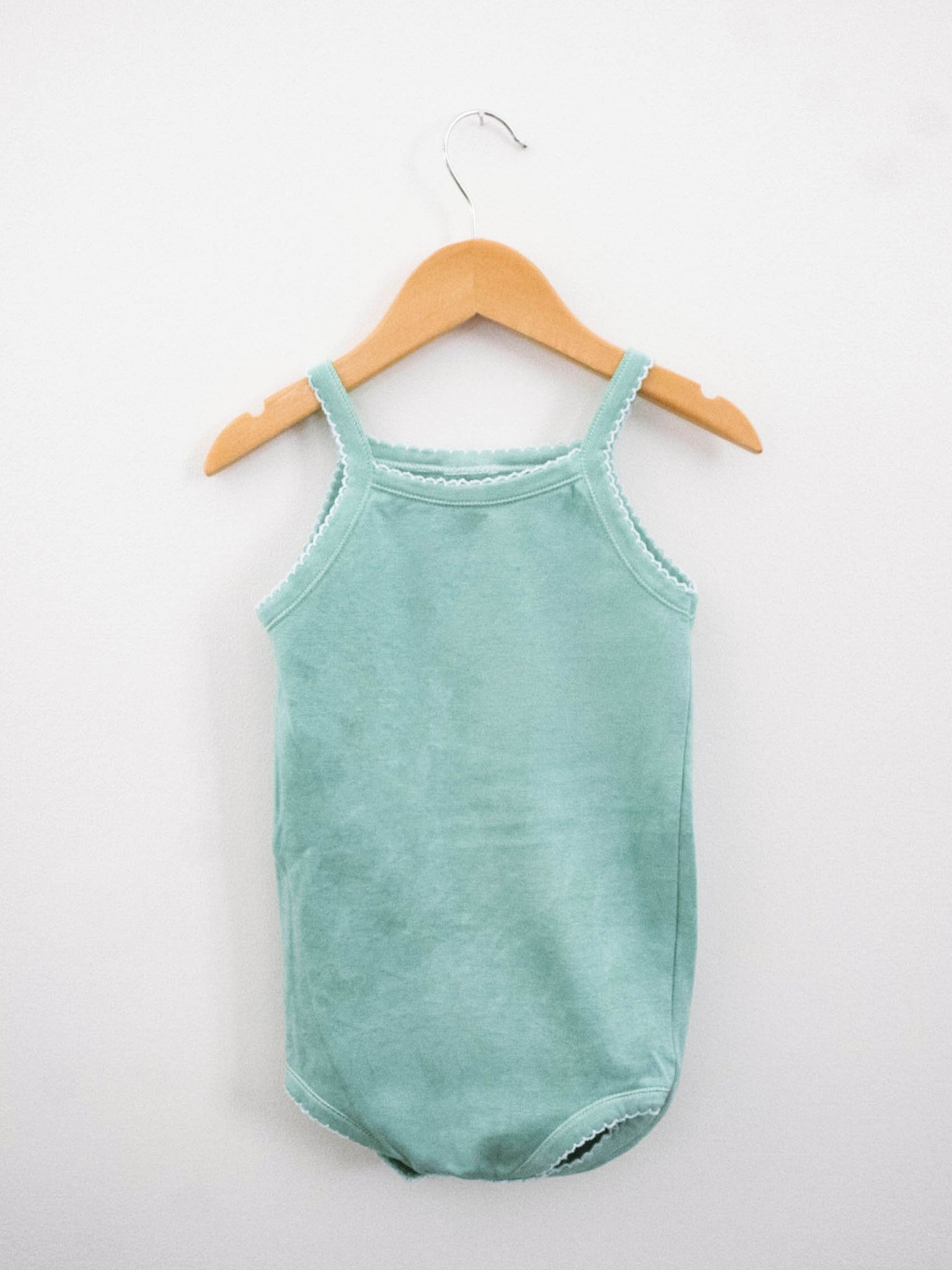Camisole Bodysuit - Celadon - Little Adi + Co.