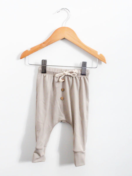 Bamboo Easy Pant - Chamois - Little Adi + Co.