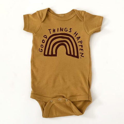 """Good Things"" Onesie 