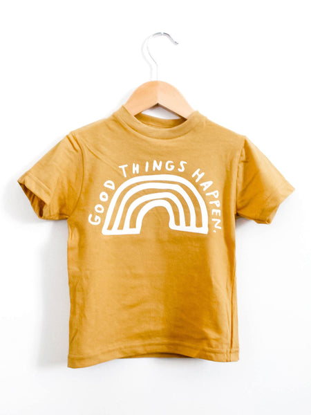 """Good Things"" Tee - Little Adi + Co."