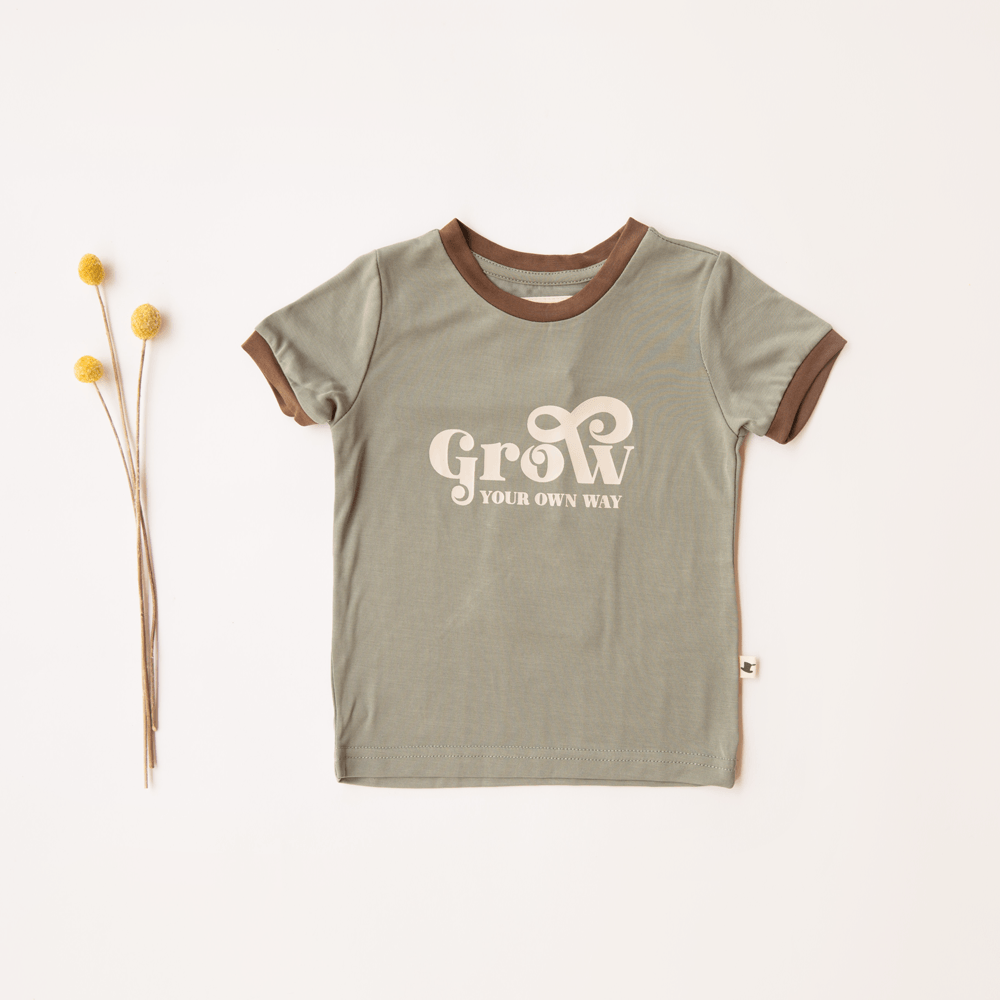 GROW RINGER TEE - Little Adi + Co.