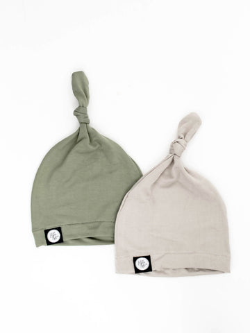Infant Knot Beanie - Little Adi + Co.