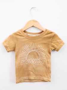 Sunrise Tee - Goldenrod - Little Adi + Co.