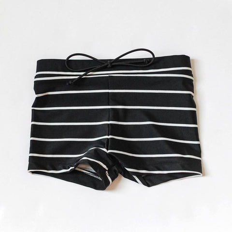 SWIM Trunks | classic stripe - Little Adi + Co.
