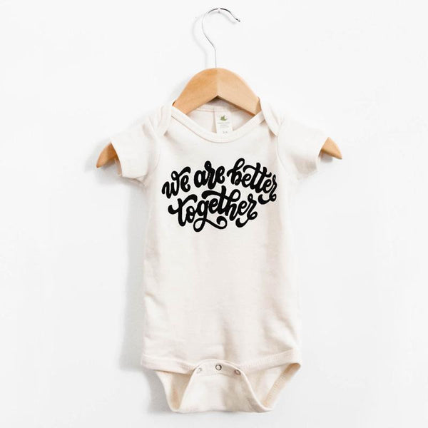 """Together"" Onesie - Little Adi + Co."