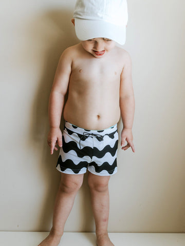 SWIM Trunks -  Wavy - Little Adi + Co.
