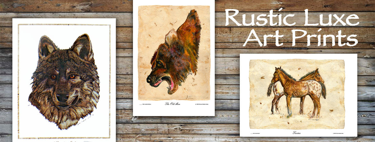 Looking for beautiful original limited edition art prints featuring wolves, horses, animals and nature?