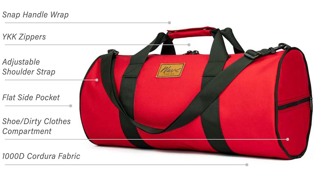 Wave Ransom Duffel with Tech Specs