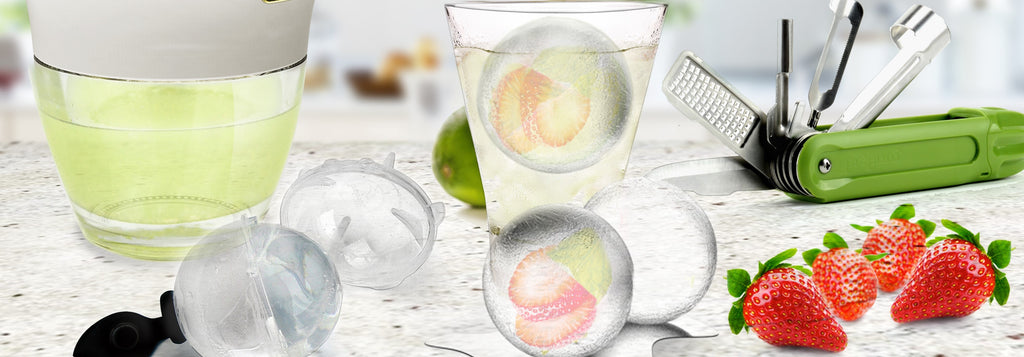 Keep Cool and Refreshed with Infused Ice Balls