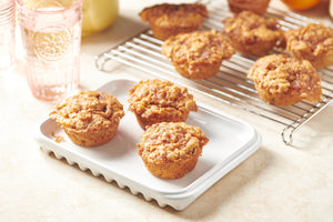 Brown Butter Apple Streusel Muffins