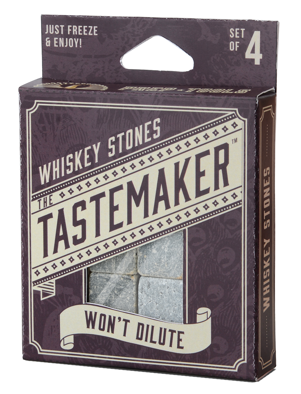 Tastemaker Collection: 4 Whiskey Stones
