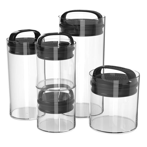 EVAK Fresh Saver Food Storage - Black Handle