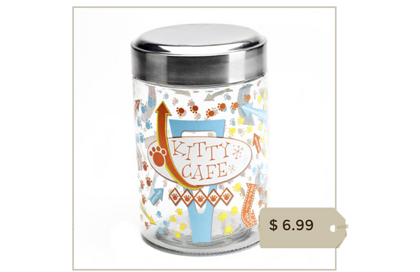 Kitty Cafe Treat Jar