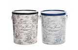 Toile Dog Food Storage Canister