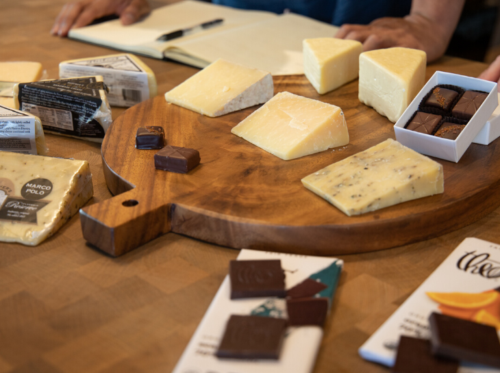 chocolate and cheese pairing discussion