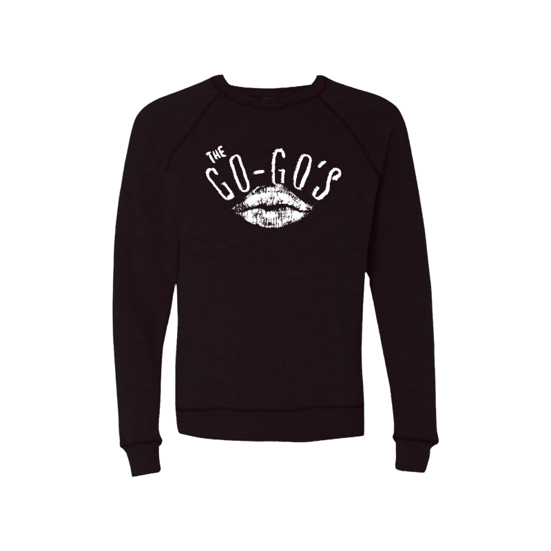 Lipstick Black Raglan Sweater