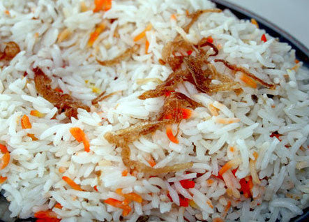 Riz du Jour/ Rice (pilaf portion) (vegan)