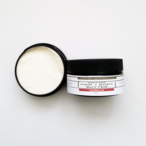 PRE ORDER 2oz HAIR + BODY (Natty) BUTTER