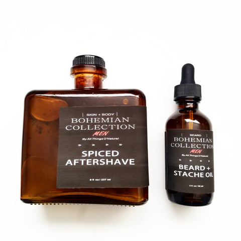 8oz Spiced Aftershave REFILL