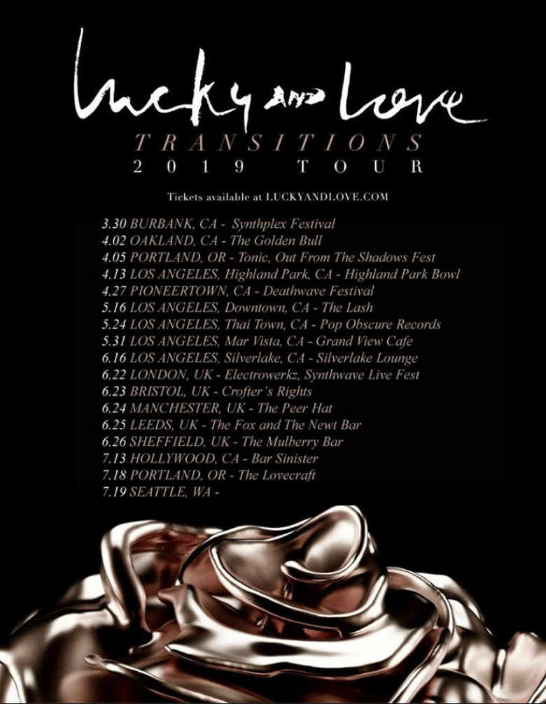 LUCKYANDLOVE TRANSITIONS TOUR 2019