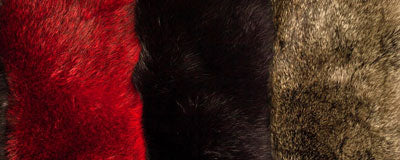 possum fur neckties and scarves made in New Zealand