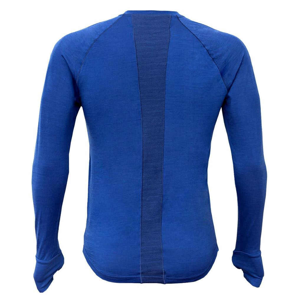 ROUTEBURN MENS LONG SLEEVE CREW NECK MERINO BASELAYER