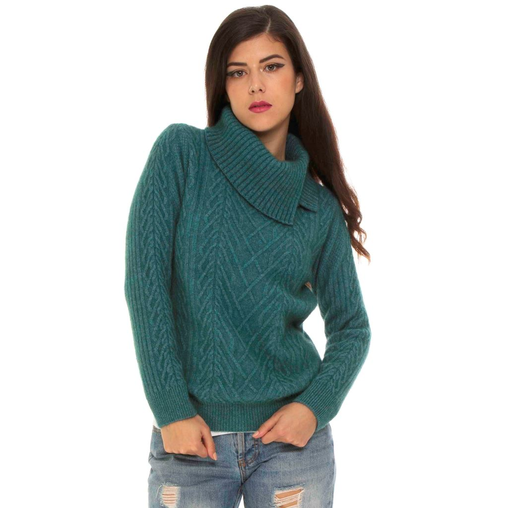 KORU MERINO POSSUM cable SWEATER