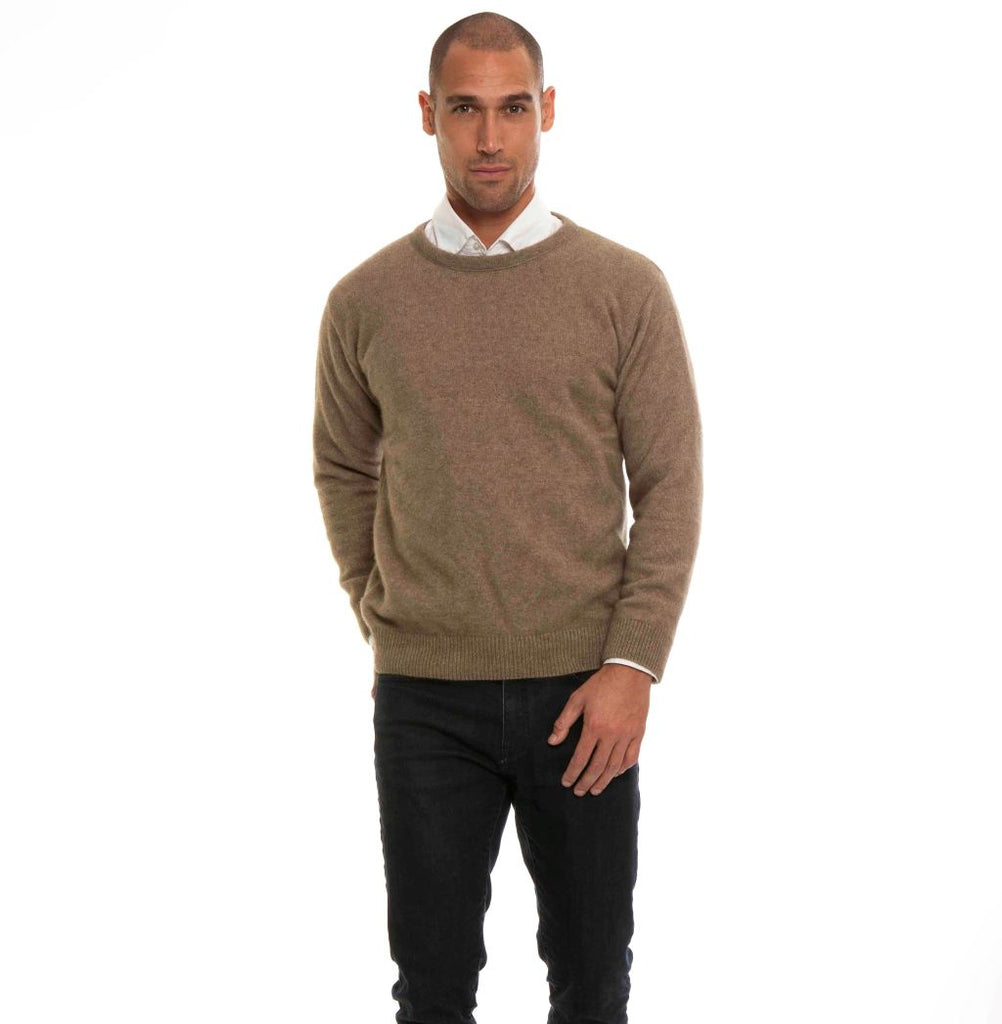 KORU MERINO POSSUM crew neck SWEATER