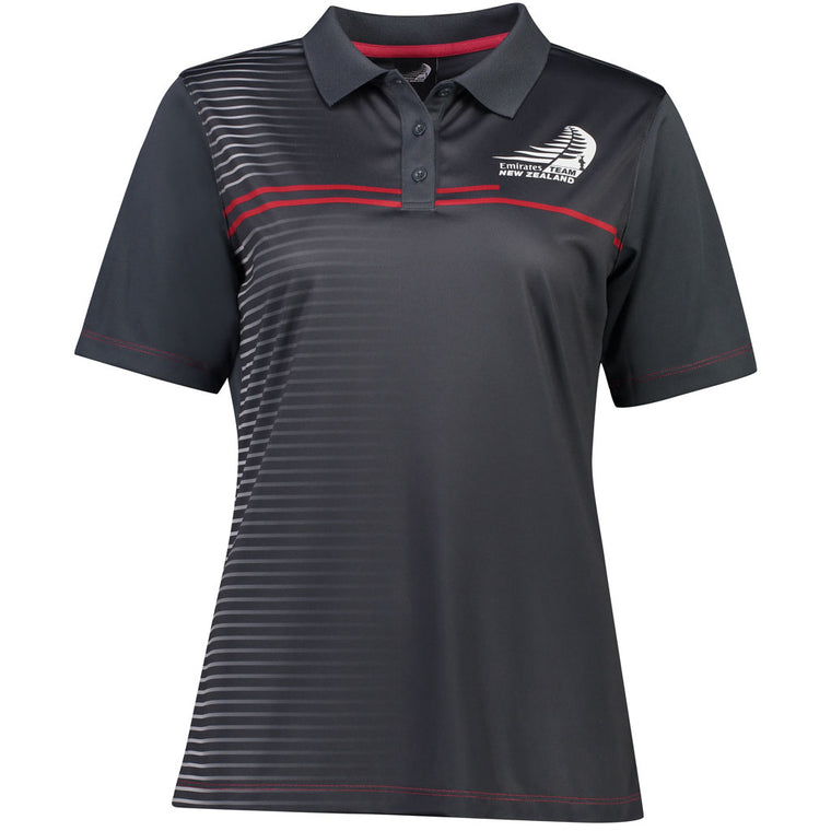 Emirates Team New Zealand LADIES TRIMMER Polo