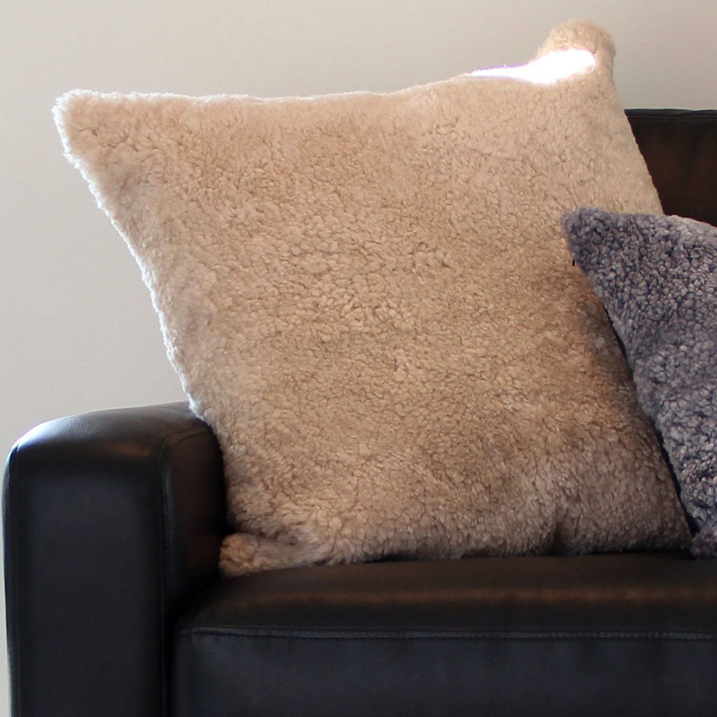 CURLY SHORN SINGLE SIDED CUSHION