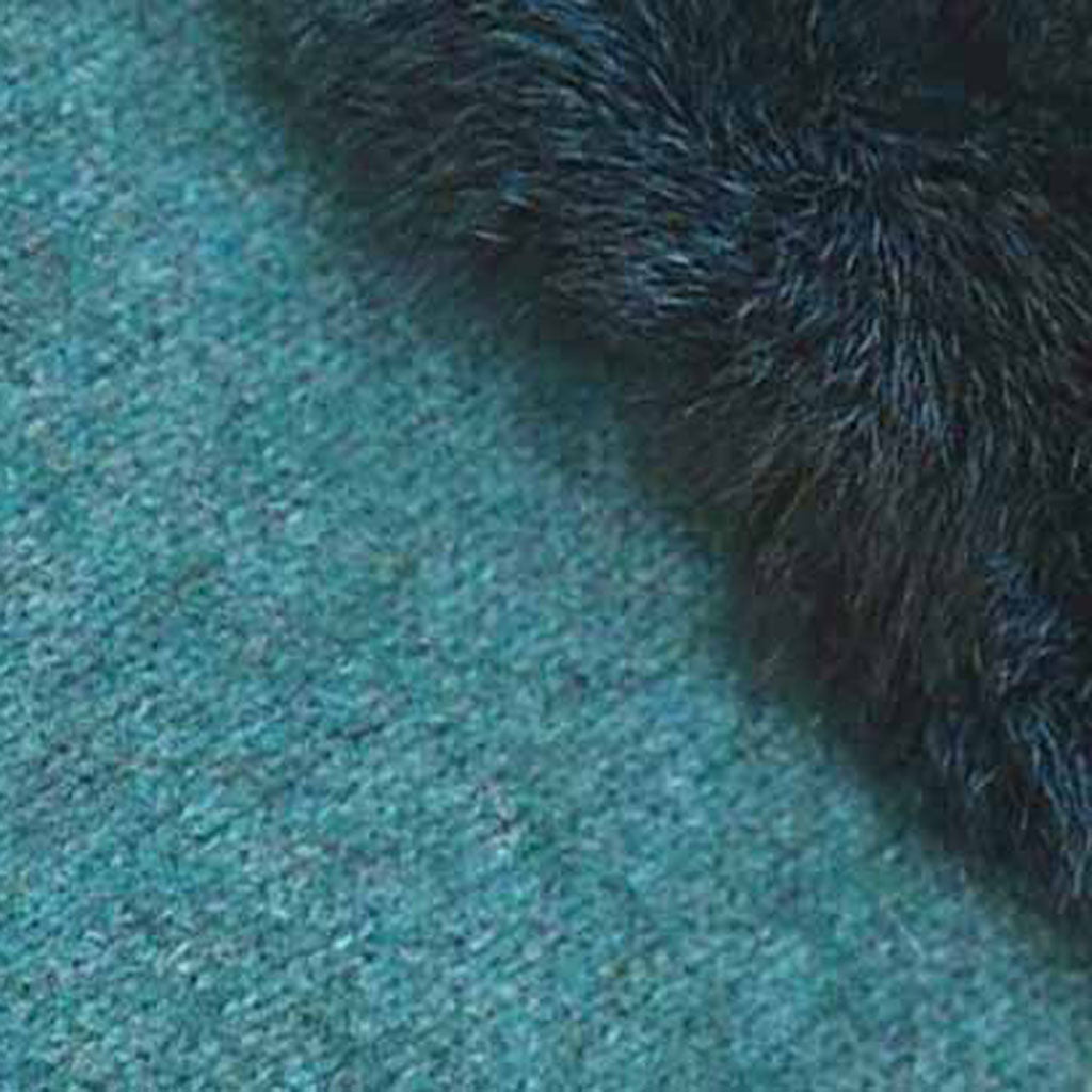 KORU MERINO POSSUM fur trim GLOVES