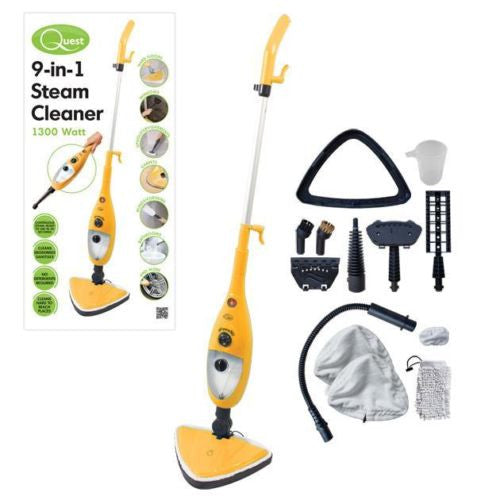 Quest 9-in-1 1300w Steam Mop
