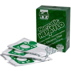 10 x Henry Hetty Numatic Hoover Genuine Hepaflo Cleaner New Hepa Vacuum Bags