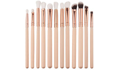 12pc Eyeshadow Foundation Makeup Brush