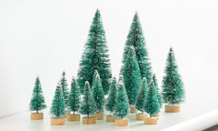 28pce Mini Xmas Tree Set