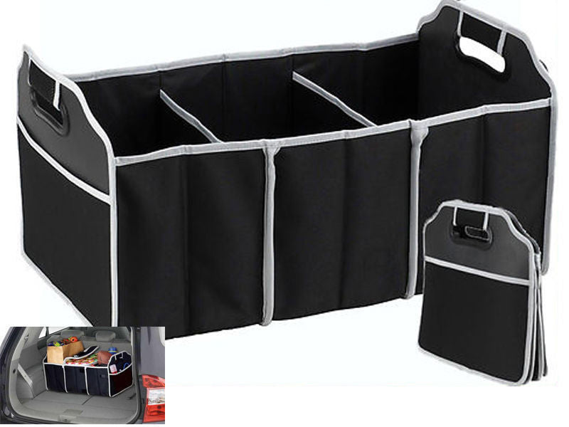 Car Boot Organiser Shopping Tidy Heavy Duty Collapsible Foldable Storage