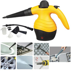 Electric Portable Hand Held Steam Steamer Cleaner with Accessories