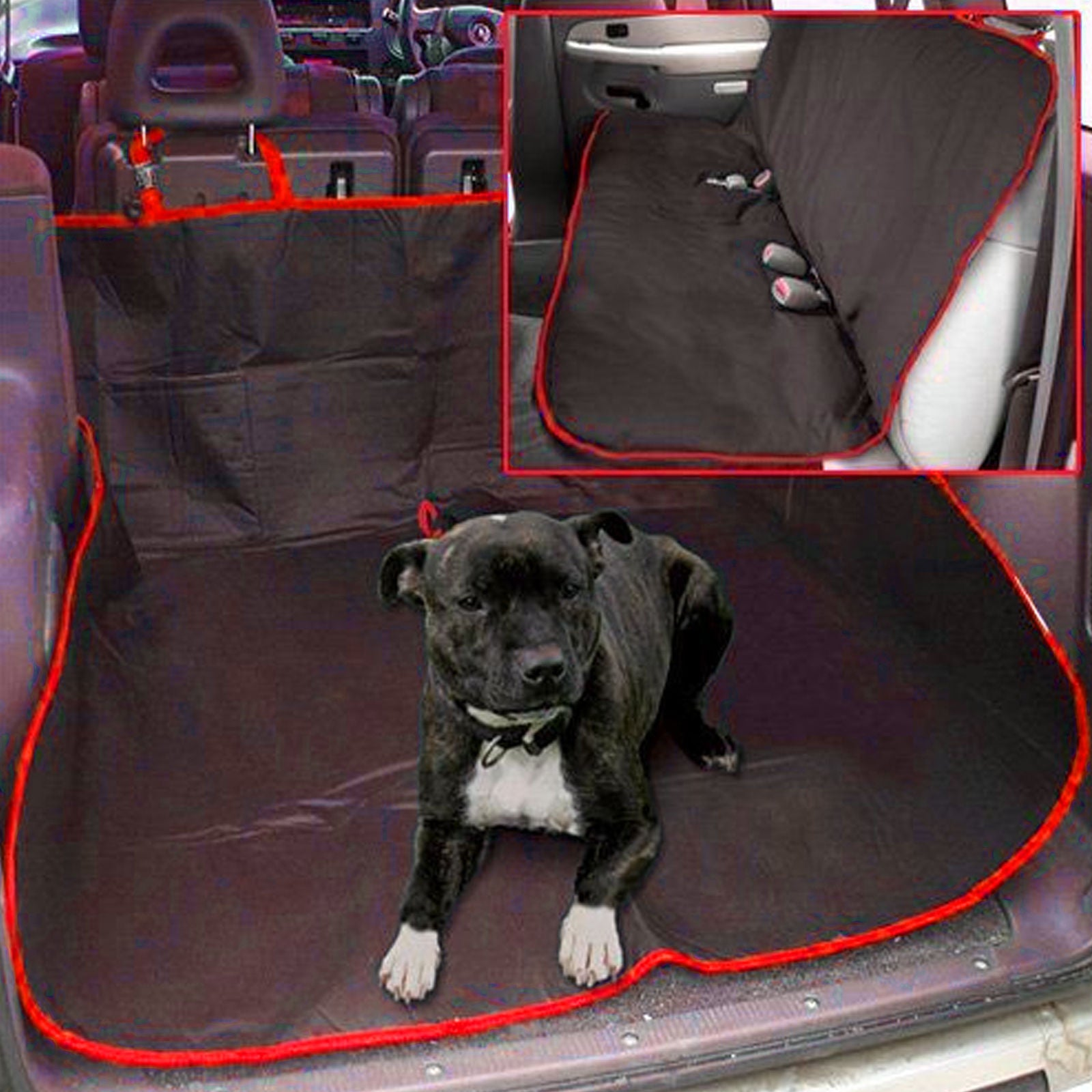 2 in 1 Waterproof Pet Seat Protector